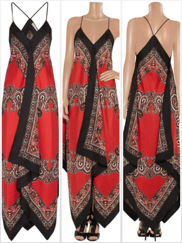 Michael Kors silk dress replica diy tutorial http://freeurcloset.com/2014/06/09/diy-michael-kors-scarf-dress/