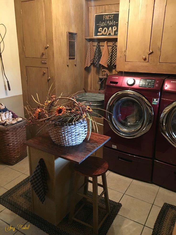 Primitive Country Laundry Room Decor Prim Decor Pinterest ...