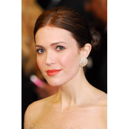 Mandy Moore (Wearing Chopard Earrings) At Arrivals For The 83Rd Academy Awards Oscars - Arrivals Part 2 Canvas Art - (16 x 20)