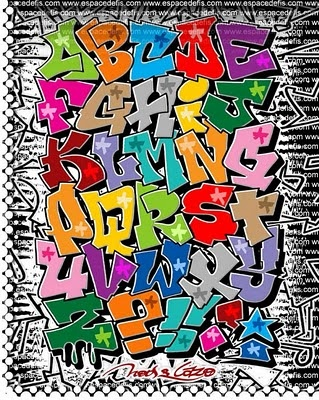 graffiti alphabet letters, there are loads of examples of graffiti alphabets on…