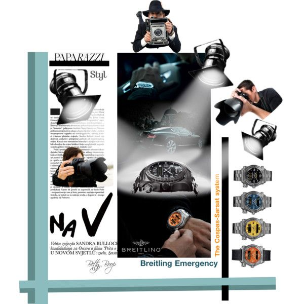 """Breitling Emergency Watch Can Save Your Life"" by betiboop8 on Polyvore"