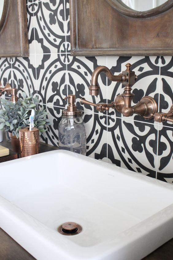 Modern Boho Bathroom Inspiration Bathroom Renovation Tile
