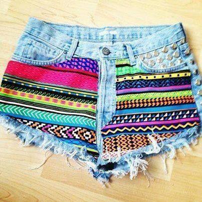 Cute Tribal shorts