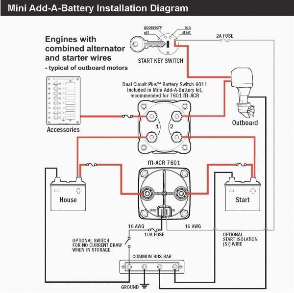 Boat Wiring Electrical Diagram, Perko Switch Wiring Diagram