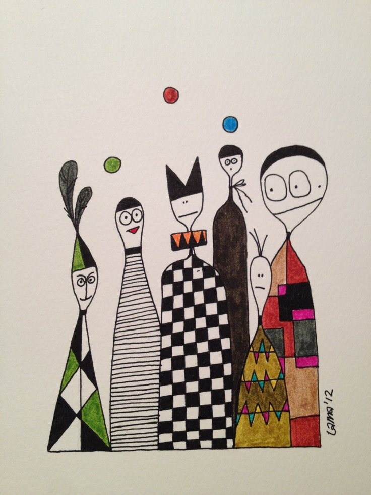 Such a clown! Drawn by Lisa Andersson