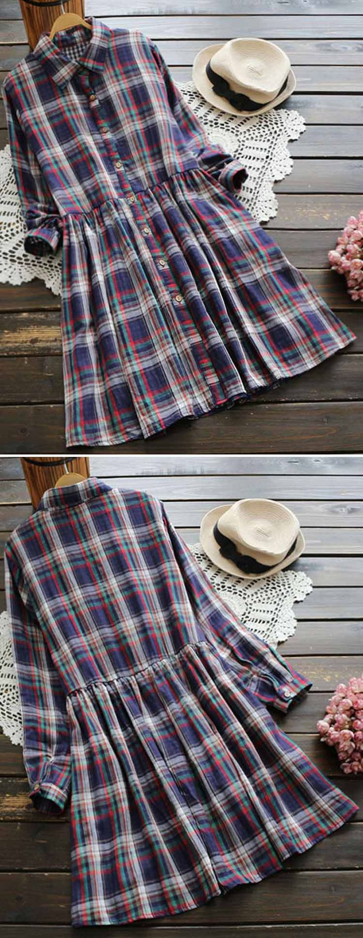 Feel this new dress with free shipping! It is so cute and gonna make you cozy all day long! Collect it at Cupshe.com