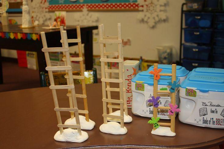 Hands On Bible Teacher: Jacob Dreams Of A Ladder