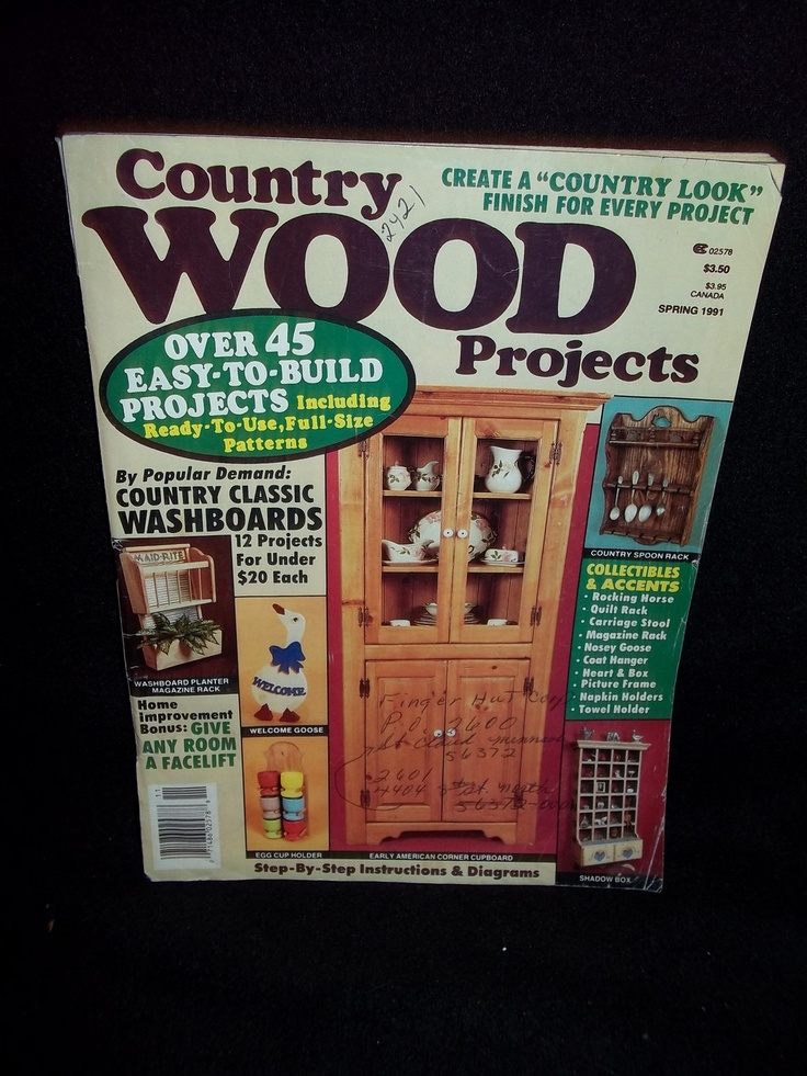 Country Wood Projects Magazine Things To Build