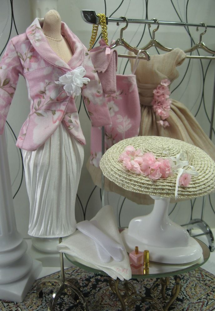 Tea Party Perfect Wardrobe for Silkstone Barbie and Fashion Royalty on Etsy now