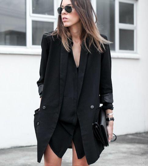 Le parfait total look noir #234 (photo Modern Legacy)