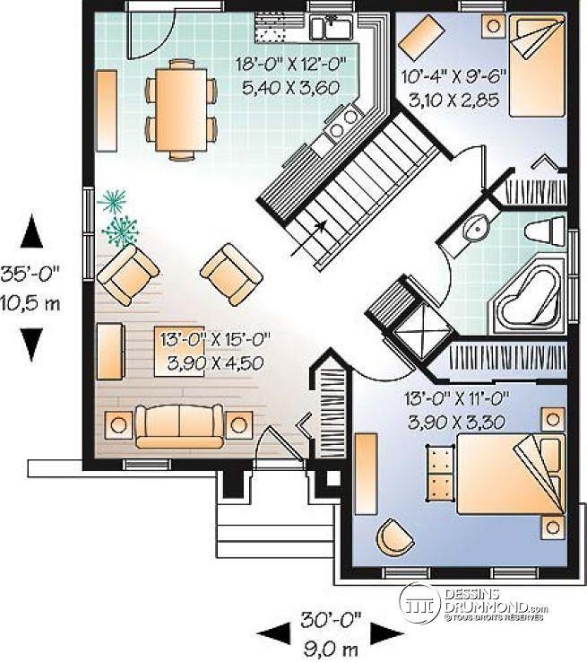 62 best Plans \ Archi images on Pinterest Bungalows, Budgeting and - site pour plan de maison