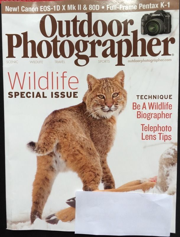 Outdoor Photography Magazine New April 2016 Wildlife Special Issue Be A Biogra..