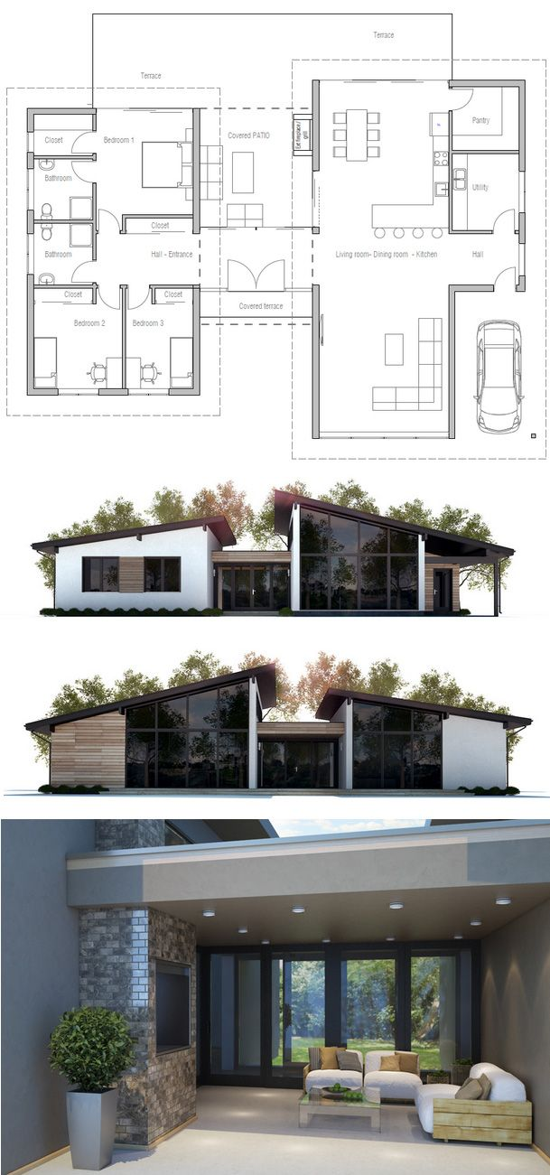 Projet de maison drawing house