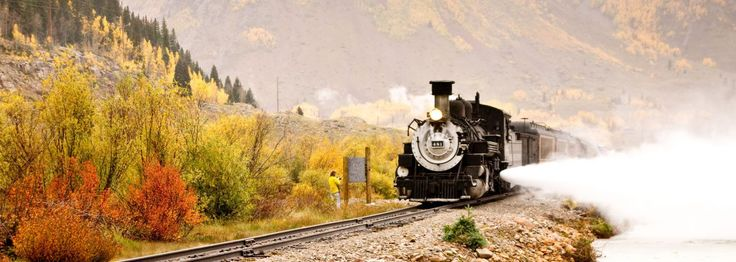 Sit back and watch the world go by on one of America's best train journeys and parts of the country accessible only by rail.
