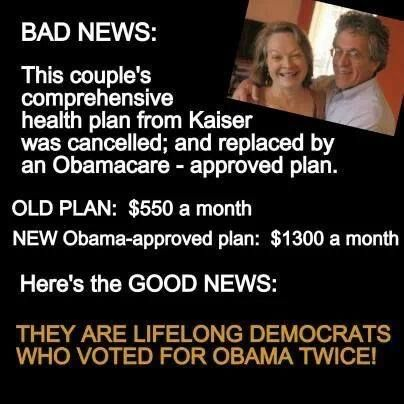 Obamacare - Unaffordable Healthcare Insurance