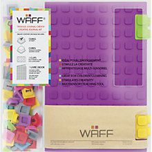 Buy WAFF Large Notebook, Purple Online at johnlewis.com