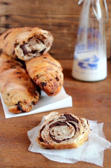 Pane al cioccolato - Chocolate Bread (1) From: Oggi Pane E Salame Domani, please visit