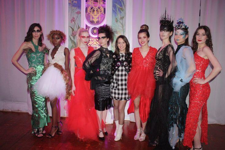 reines d'olympe / Marine Guillemette Création  Styliste Haute Couture Défilé de mode Défilé Fashion Show