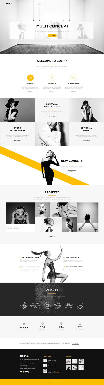 Bolina - Multi-purpose PSD Template - PSD Templates | ThemeForest