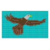 flying eagle loom beading pattern