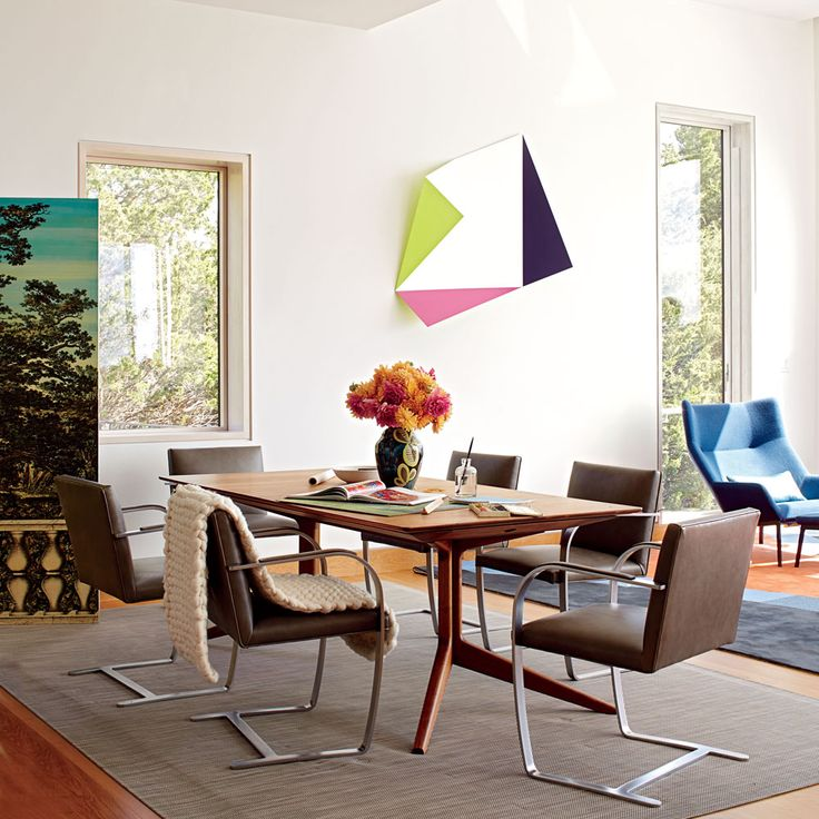 tour this colorful modern beach house
