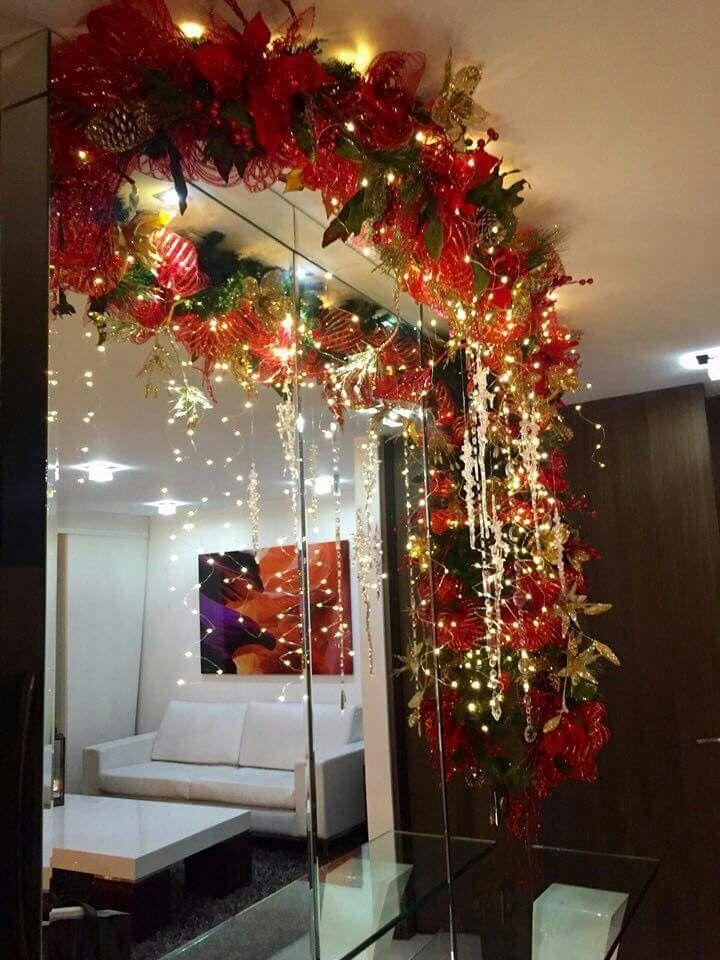 Para poner techo de la navidad pinterest navidad - Ideas de arreglos navidenos ...