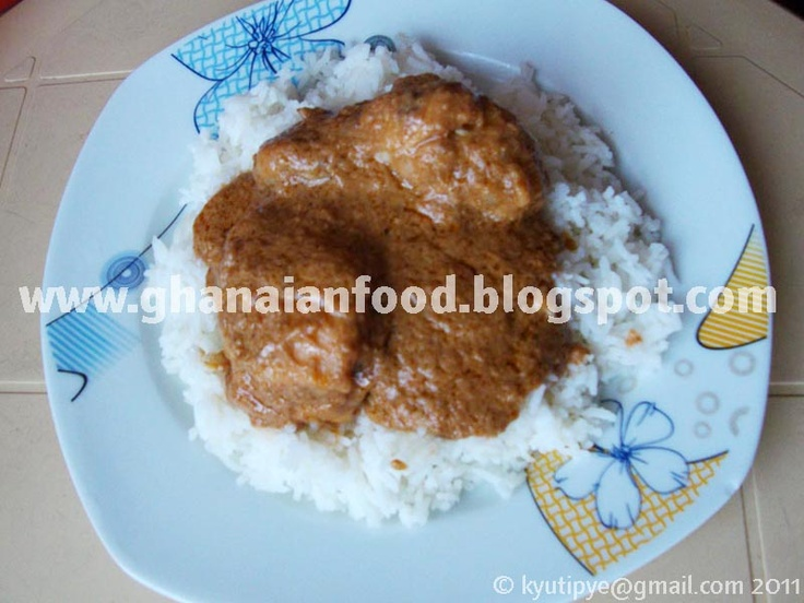 Ghanaian Food: Groundnut Stew (with a Guinean twist)