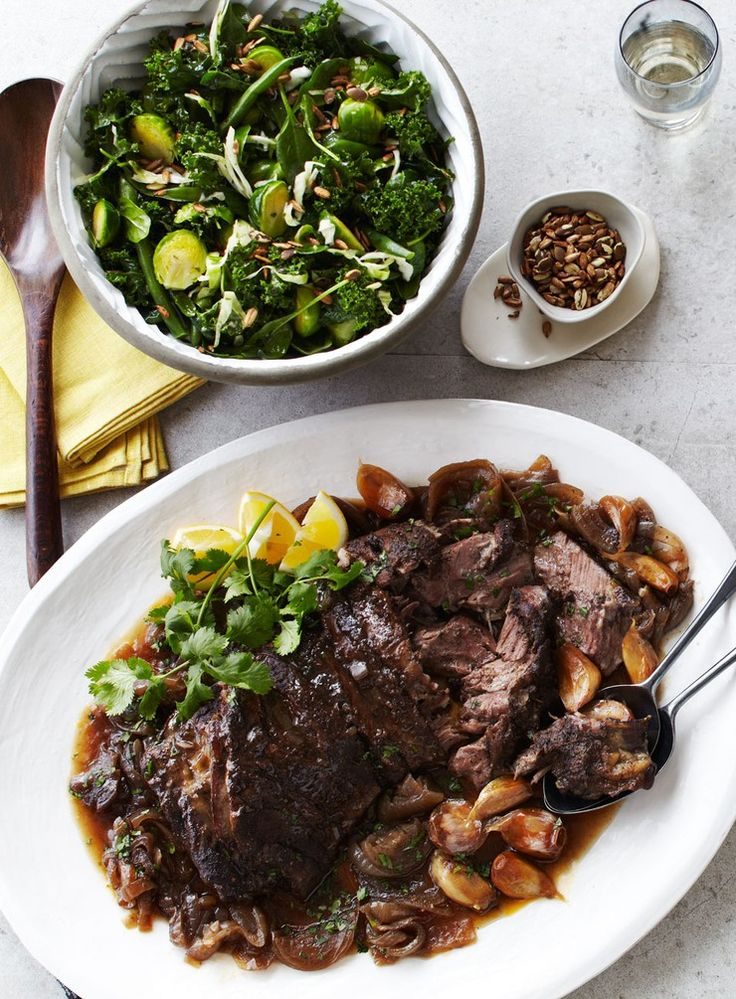 Meltingly tender lamb is infused with aromatic spices that cut through the rich meat. With plenty of extra pan juices to spoon over everything, this is my perfect meal to share with family and friends.