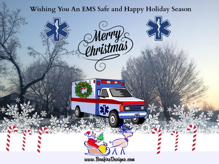 Image result for merry christmas happy holidays EMS
