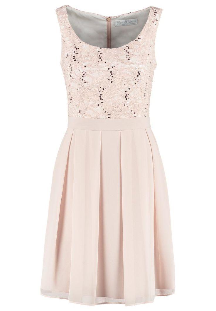 Dieses elegante Kleid überzeugt mit Details. Young Couture by Barbara Schwarzer Cocktailkleid / festliches Kleid - peach für 159,95 € (04.04.16) versandkostenfrei bei Zalando bestellen.