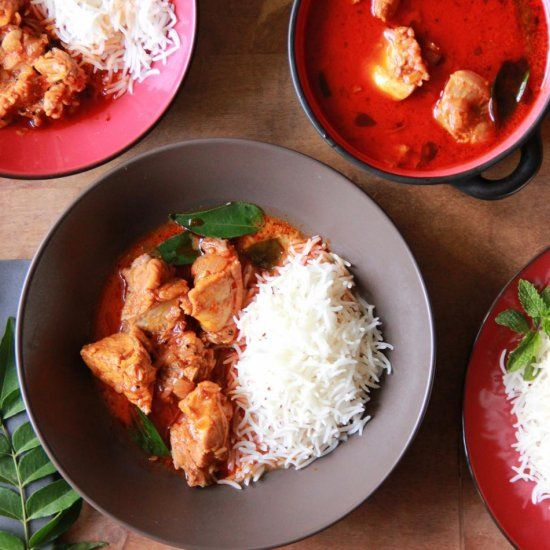 Curry that has the warmth of coriander and the creaminess of coconut ...