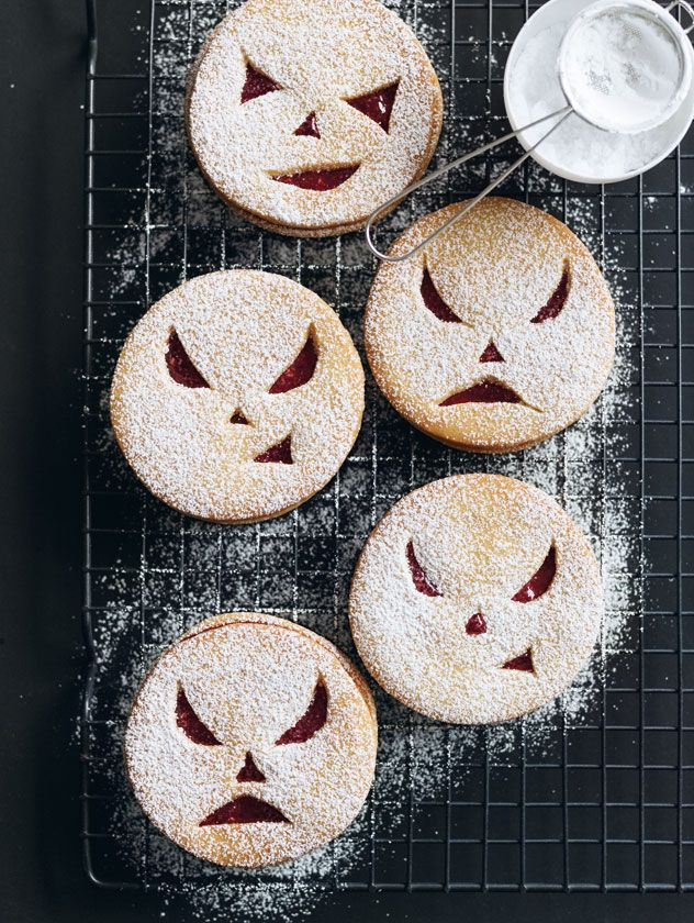 halloween wicked cookie sandwiches by donna hay