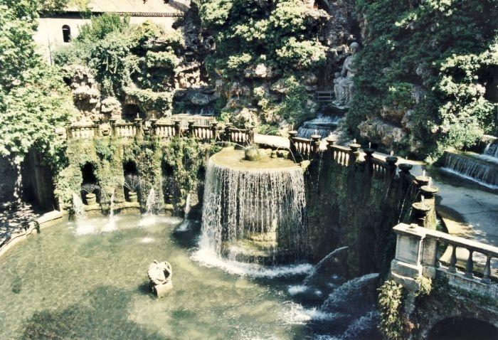 Giardini di Tivoli - Roma, Italia
