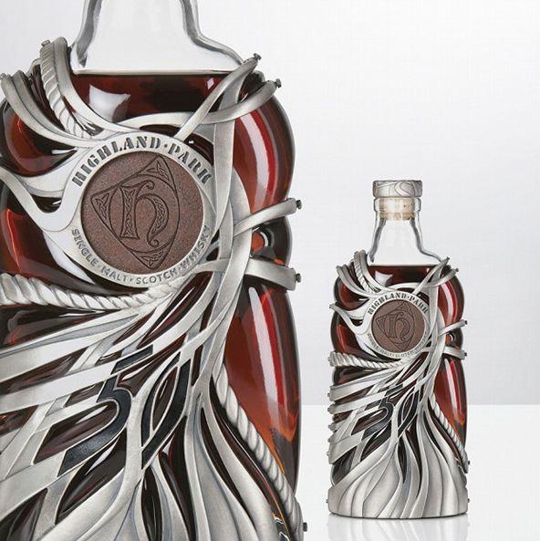 Highland Park bottle design