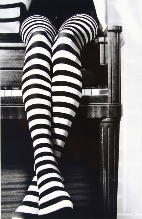 striped tights....everybody needs a pair