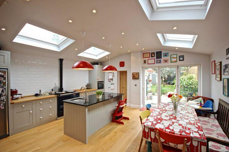 Victorian house kitchen extension