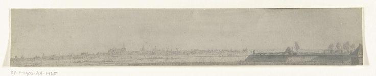 frères Moreau   Gezicht op Crèvecoeur, 1672, frères Moreau, Adam Frans van der Meulen, 1900 - 1903   Foto van een tekening met een panoramisch gezicht op Crèvecoeur, bereikt door het Franse leger in juni 1672. Onderdeel van een serie foto's van tekeningen van veroverde steden tijdens de Franse inval in de Nederlanden in 1672.
