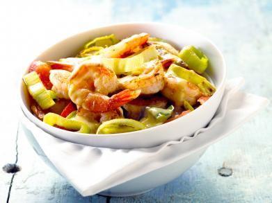 wokken met scampi's #wok #scampi #curry http://www.libelle-lekker.be/recepten/zoeken/2496/wok-van-scampis-met-kerrie
