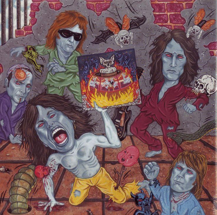 Aerosmith art nine lives penis
