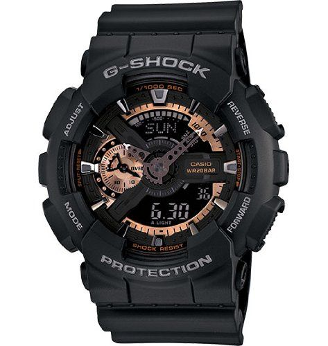 Best Review for Casio Men's GA110RG-1A G-Shock Black Watch – G Shock Watch | Mens Watches Store & Reviews
