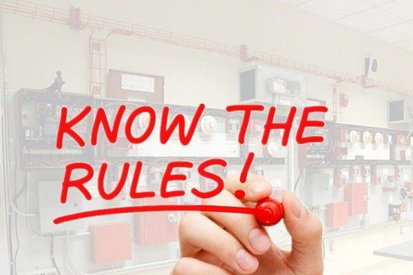 Mau pasang fire alarm? kenali dulu yuk peraturan-peraturannya --->