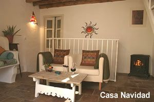 Sitting room, Casa Navidad, Alhama de Granada