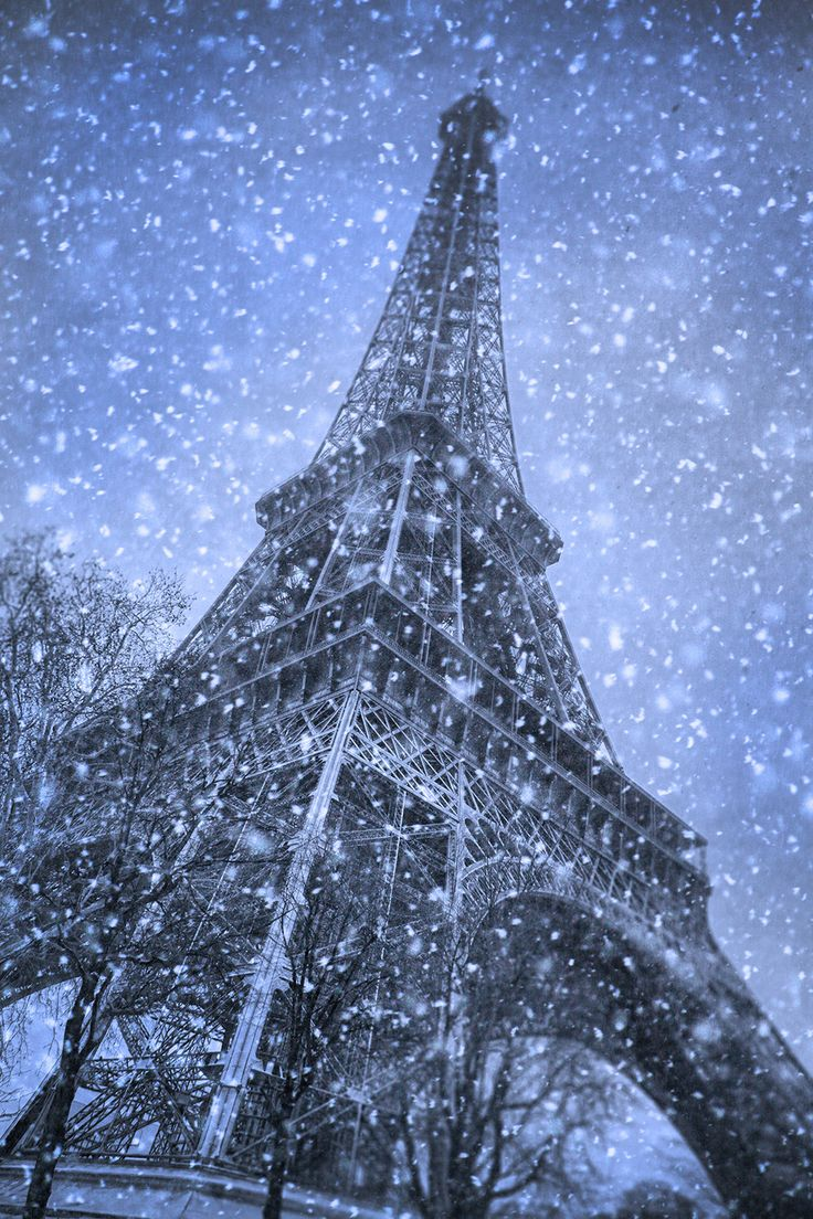Best Pictures Snow Paris