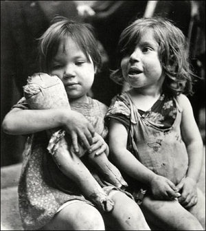 "Children Playing with a Broken Doll, Naples, Italy, David ""Chim"" Seymour"