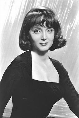 "Carolyn Jones.  Remember her from the movie ""A Hole in the Head"" with Frank Sinatra where he sang ""High Hopes"" where the ant can't move a rubber tree plant""."