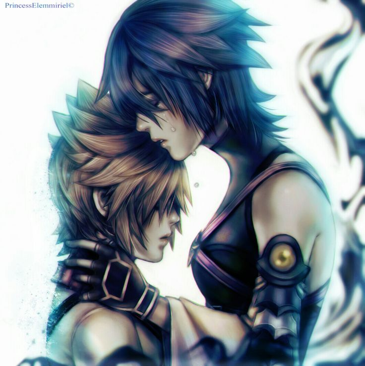 """princesselemmiriel: """" """"Remember that I'll be there, one day, to wake you up"""". **updated When I saw the new Kingdom Hearts 2.8 trailer, this came inmediately to my mind: Aqua, trapped in the Realm of..."""