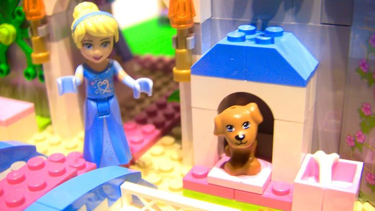 LEGO Toys for Kids | Disney Princess Cinderella's Romantic Castle Stop Motion build video: https://youtu.be/SVlgkLejmmc