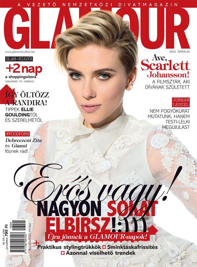 Scarlett Johansson. April 2016 issue. Photo by Profimedia