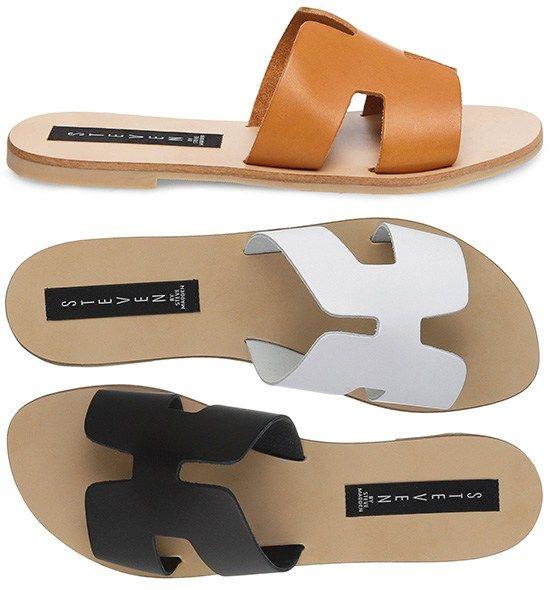 1f3b3cd41c5 Steven by Steve Madden Greece Slip-On Slide Sandals in brown