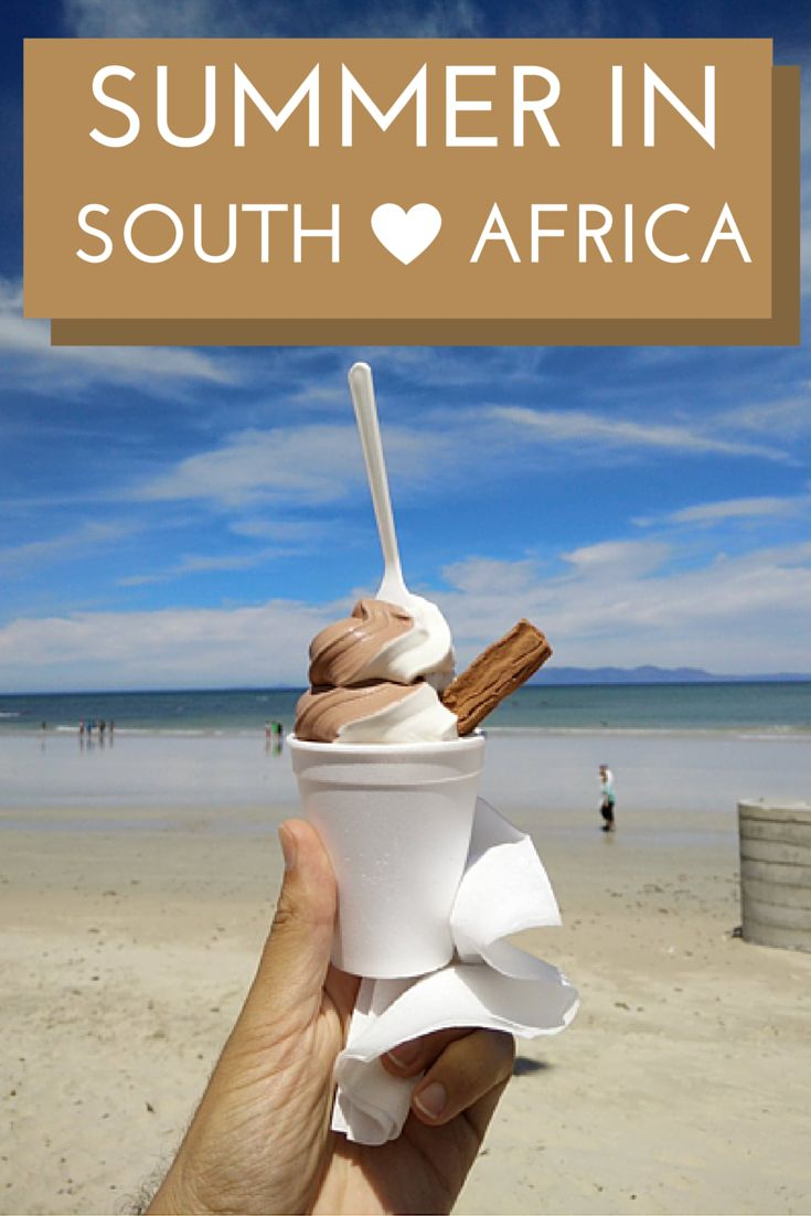 Where to spend your summer holidays in South Africa.